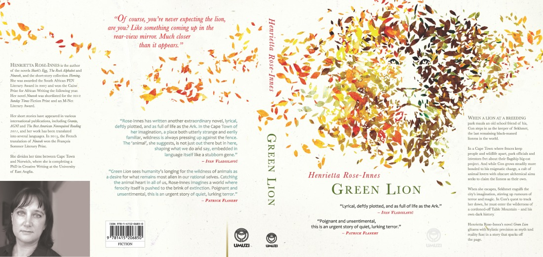 Green Lion - complete cover without crop marks