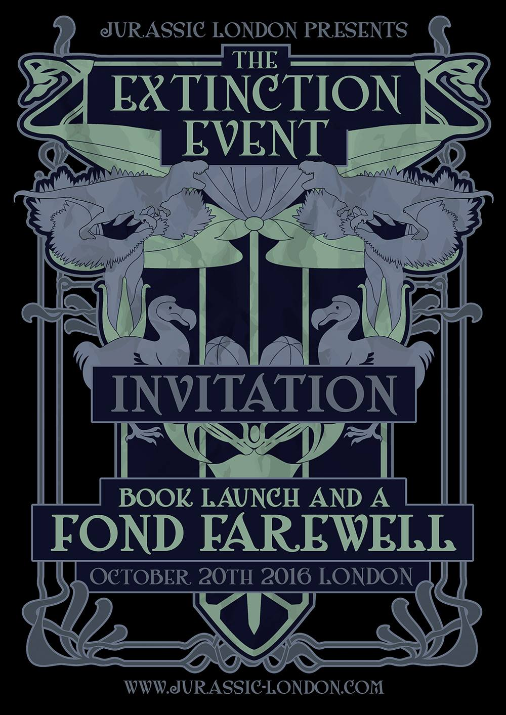 extinction event invite
